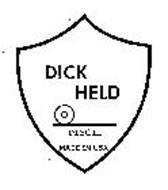 DICK HELD DISCII MADE IN USA