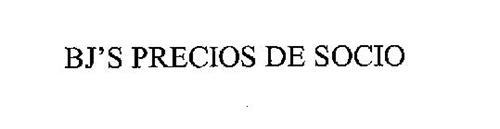 BJ'S PRECIOS DE SOCIO