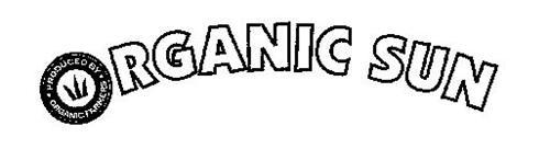 ORGANIC SUN PRODUCED BY · ORGANIC FARMERS ·