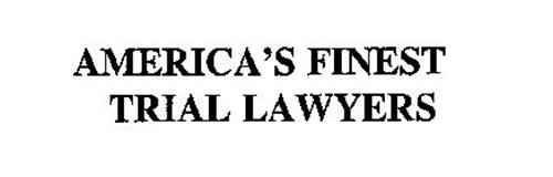 AMERICA'S FINEST TRIAL LAWYERS