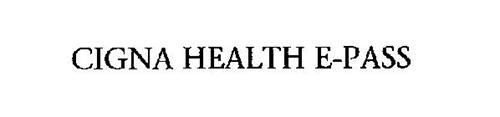 CIGNA HEALTH E-PASS