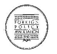FOREIGN POLICY ASSOCIATION 1918