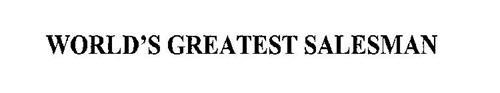 WORLD'S GREATEST SALESMAN
