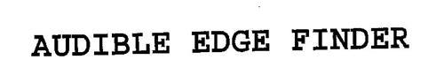 AUDIBLE EDGE FINDER