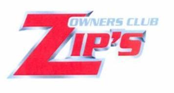 ZIP'S OWNERS CLUB