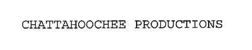 CHATTAHOOCHEE PRODUCTIONS