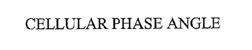 CELLULAR PHASE ANGLE