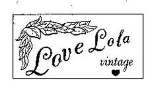 LOVE LOLA VINTAGE