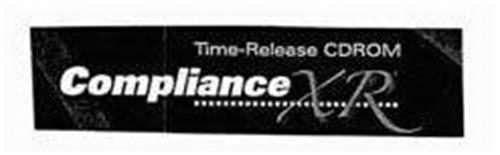 TIME-RELEASE CDROM COMPLIANCE XR