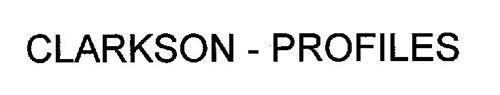 CLARKSON - PROFILES