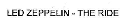 LED ZEPPELIN - THE RIDE