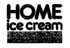 HOME ICE CREAM