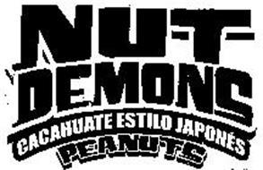 NUT DEMONS CACAHUATE ESTILO JAPONÉS PEANUTS