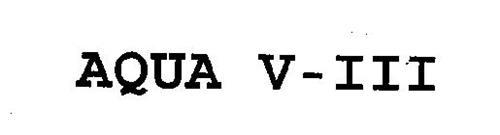 AQUA V-III