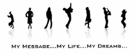 MY MESSAGE...MY LIFE...MY DREAMS...