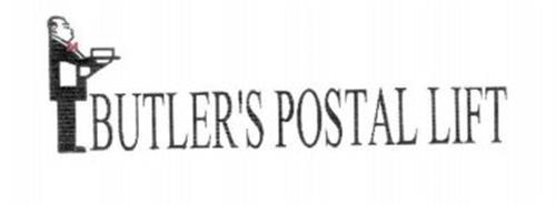 BUTLER'S POSTAL LIFT