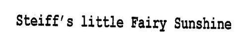 STEIFF'S LITTLE FAIRY SUNSHINE