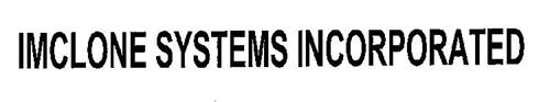 IMCLONE SYSTEMS INCORPORATED