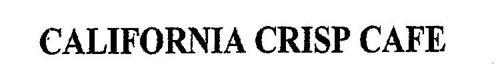CALIFORNIA CRISP CAFE