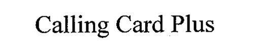 CALLING CARD PLUS