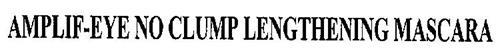 AMPLIF-EYE NO CLUMP LENGTHENING MASCARA