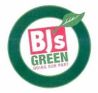 BJ S GREEN DOING OUR PART