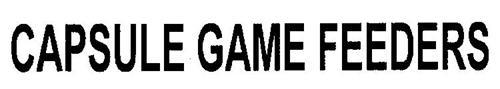 CAPSULE GAME FEEDERS