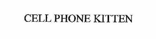 CELL PHONE KITTEN