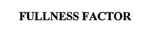 FULLNESS FACTOR