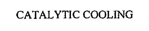 CATALYTIC COOLING