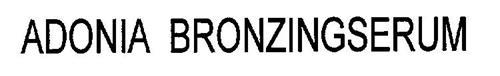 ADONIA BRONZINGSERUM