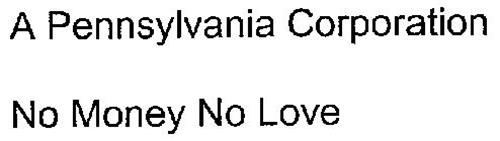 NO MONEY NO LOVE
