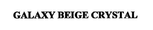 GALAXY BEIGE CRYSTAL