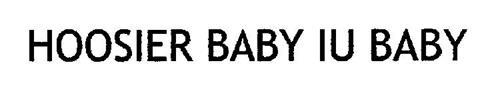 HOOSIER BABY IU BABY