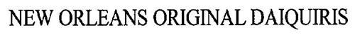 NEW ORLEANS ORIGINAL DAIQUIRIS