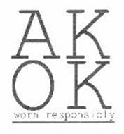 AK OK WORN RESPONSIBLY