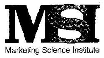 MSI MARKETING SCIENCE INSTITUTE