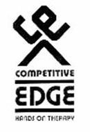 CE COMPETITIVE EDGE HANDS ON THERAPY