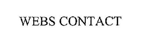 WEBS CONTACT