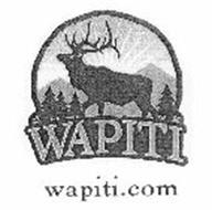 WAPITI WAPITI.COM