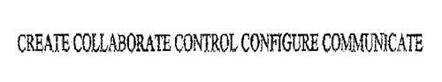 CREATE COLLABORATE CONTROL CONFIGURE COMMUNICATE