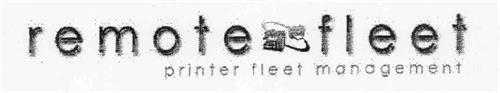 REMOTE FLEET PRINTER FLEET MANAGEMENT