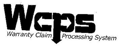 WCPS WARRANTY CLAIM PROCESSING SYSTEM