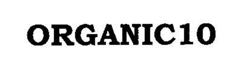 ORGANIC 10