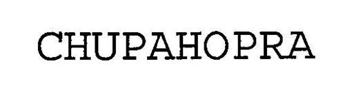 CHUPAHOPRA