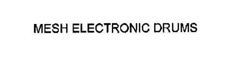 MESH ELECTRONIC DRUMS