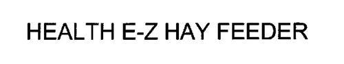 HEALTH E-Z HAY FEEDER