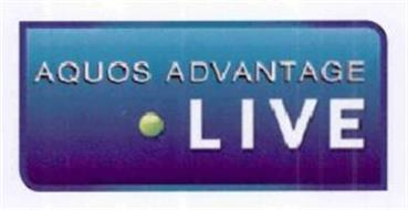 AQUOS ADVANTAGE LIVE