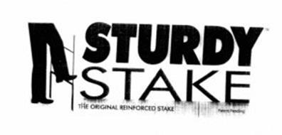 STURDY STAKE THE ORIGINAL REINFORCED STAKE