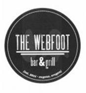 THE WEBFOOT BAR & GRILL [EST. 2011· EUGENE, OREGON]